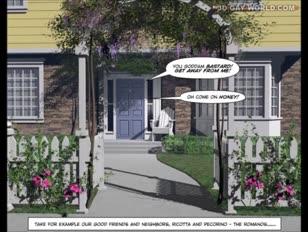 Zdesperowani małżonkowie animacja 3d homo animowane komiksy