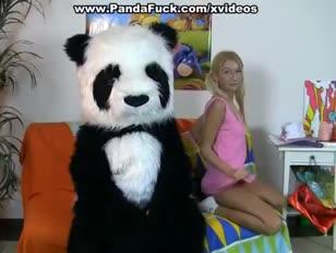 Panda wydra w fuck-fest fucktoy porno wideo
